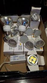 MR16 led 4w light bulb x15 + G10 3w/7w