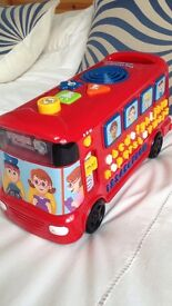 VTech Phonics play bus