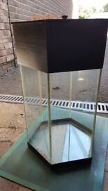 Used Glass Fish Tank and Accessories