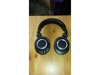 Audio-Technica ATH-M50X Studio Monitor Professional Headphones - Black