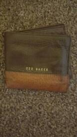 Ted baker 100% leather wallet