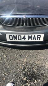 Registration plate -contact on 07961532218