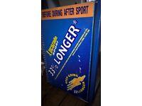lucozade under the counter drinks fridge.