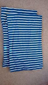 IKEA COT / COTBED BEDDING BUNDLE NAUTICAL DESIGN - 2 OF EVERYTHING