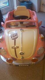 Childrens beetle car.