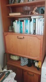 2 x 70's sideboards (one with drinks cabinet)