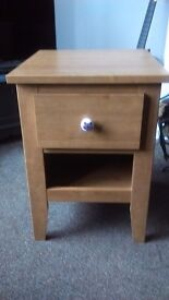 New side table with drawer