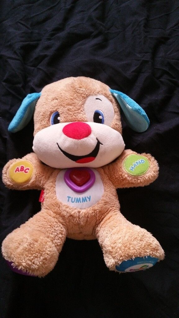 Fisher price smart stages puppy interactive toy