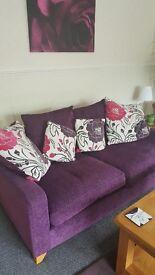 Large dfs sofas excellent condition