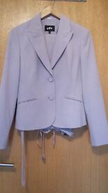 Per Una Lilac Ladies Trouser Suit - Size 10
