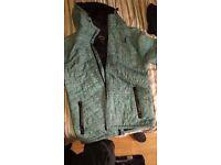 Blue never est jacket size medium good condition