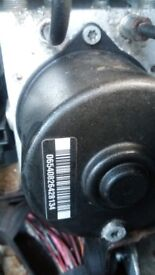 Mazda 3 abs pump modulator mazda 3 2007 please see photos with code details.