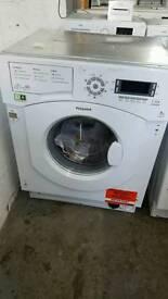 Hotpoint Ultima BHWMD742 Integrated Washing Machine New