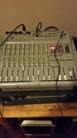 Warrior definitve audio mixing desk