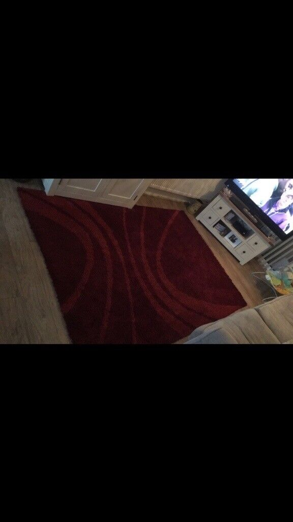 Red Large Rug