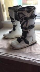 FLY racing motocross boots. Size 6