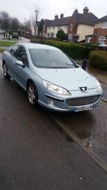 peugeot 407 2.0 hdi full leather