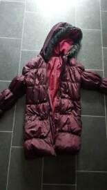Girls age 9/10 coat