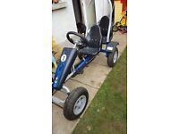 Large 2 seater pedal go kart