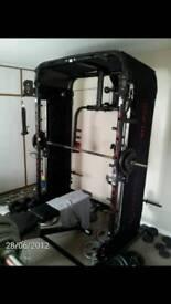 Domyos BM970 3D electro smith machine and multi gym.