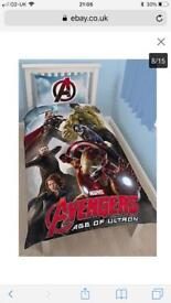 Avenger single bedding