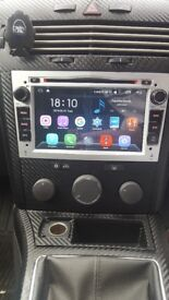 vauxhall radio a-sure with navigation and bluetooth with box