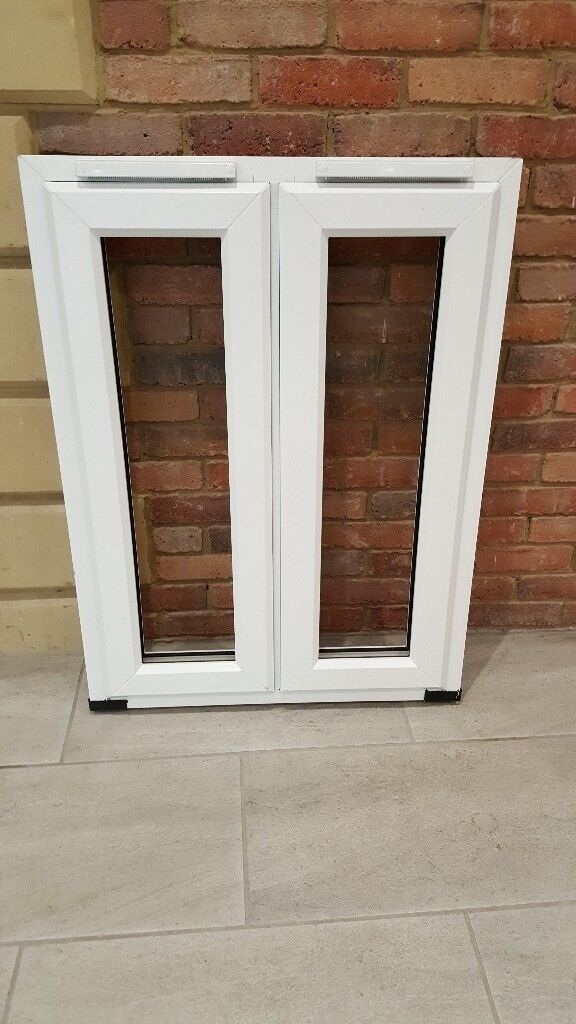 4 White Upvc French windows for sale just £35 with Free local delivery