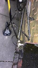 Carrera bike ltd TDF used condition (no back wheel)