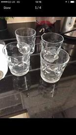 Glasses- set of 4