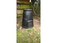330 Litre Compost Converter by Blackwall. Complete with original lid and hatch.