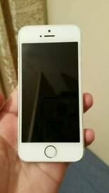 IPhone 5s 16GB Silver Color Unlocked Excellent Condition As like New