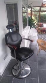 Retro barbers chair