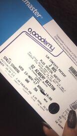 Jhus ticket, 02 academy brixton
