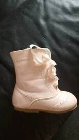 Baby girl Spanish type boots size 4