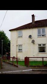 Upper floor two bedroom flat for sale in Dalmellington