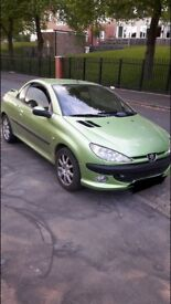 peugeot 206 cc convertible drives well