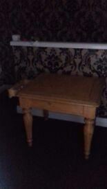 Heavy Pine Table