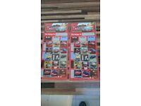 2 x Lightening McQueen reusable reward sticker sets, new and sealed, free