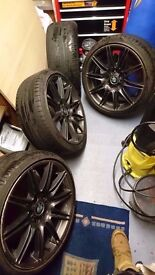 Bmw Mv4 19'' Alloys Genuine Gun Metal Grey Can Post Can sell singles Part Ex welcome