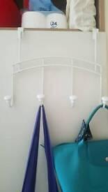 2 x Over Door Hanger Hooks