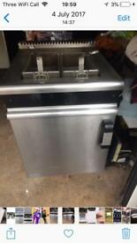 Catering gas fryer