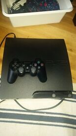 PS 3 slim with 10 games for sale