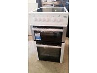 Beko electric cooker ceramic 50cm new working order