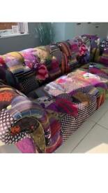 2Chesterfield style sofas