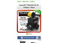 Window cleaning Trojan trolley and extendable pole for sale