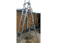 1 Set Aluminium Combination Ladders, Good Condition