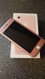 Iphone 7 rose gold 32gb o2 tesco Giffgaff
