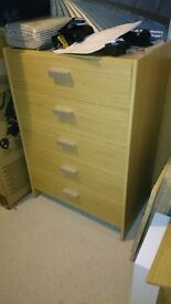 Chest of drawers in excellent condition