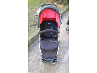 Obaby baby buggy with raincover