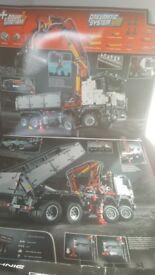 Lego technic mercedes benz lorry